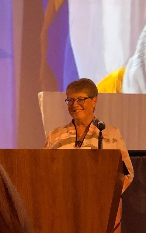 Cathy Daugherty 2018-2020 International President